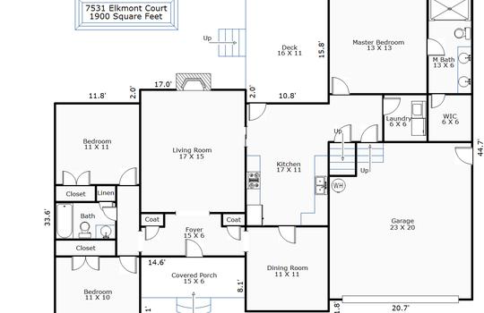9971 – 7531 Elkmont Court-1st Floor