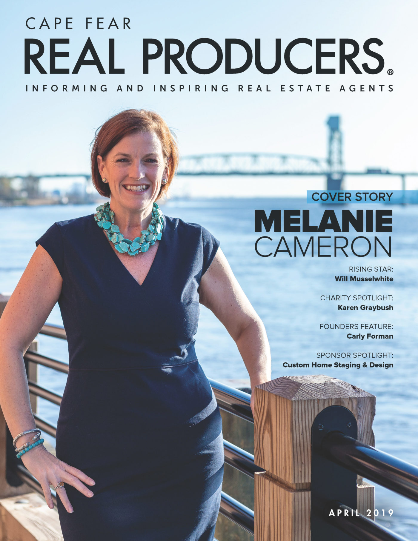 Melanie Cameron in Cape Fear Real Producers
