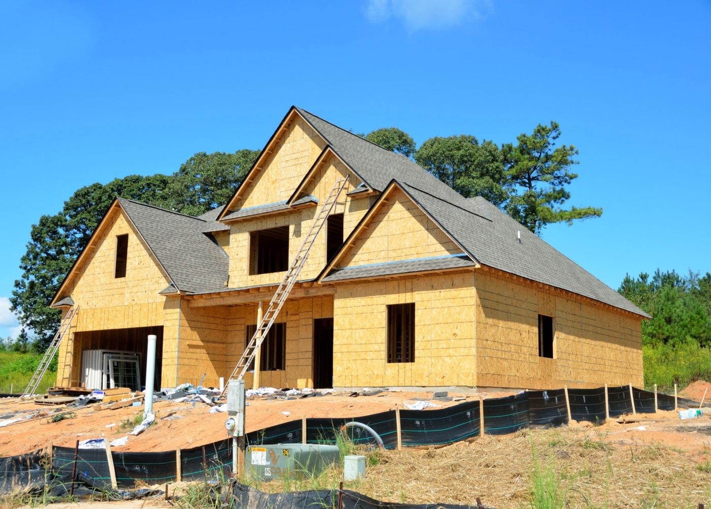 Custom Home Under Construction