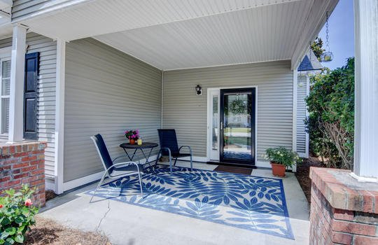 Front Covered Patio