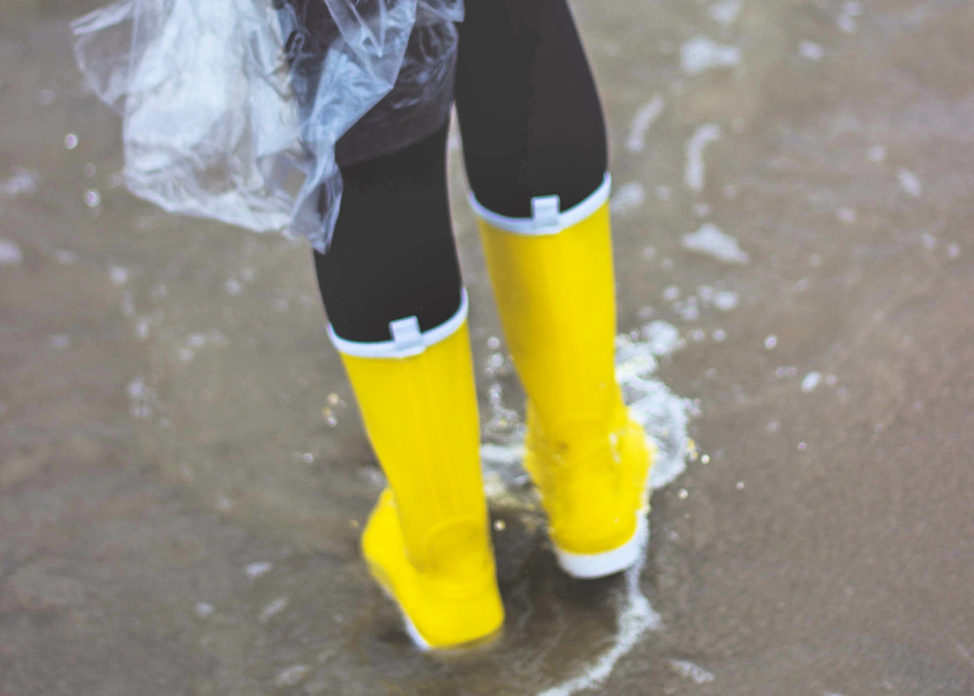 Boots in Flooding