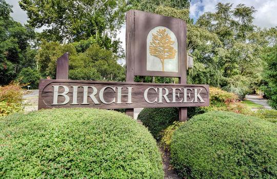 Birch Creek Entrance