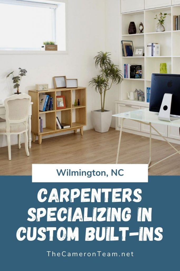 Wilmington NC Carpenters Specializing in Custom Built-Ins