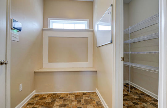 Mud Room and Pantry