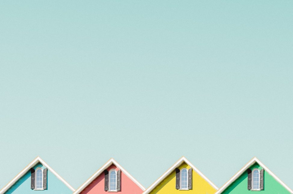 Colorful Houses - Photo by Jeffrey Czum from Pexels