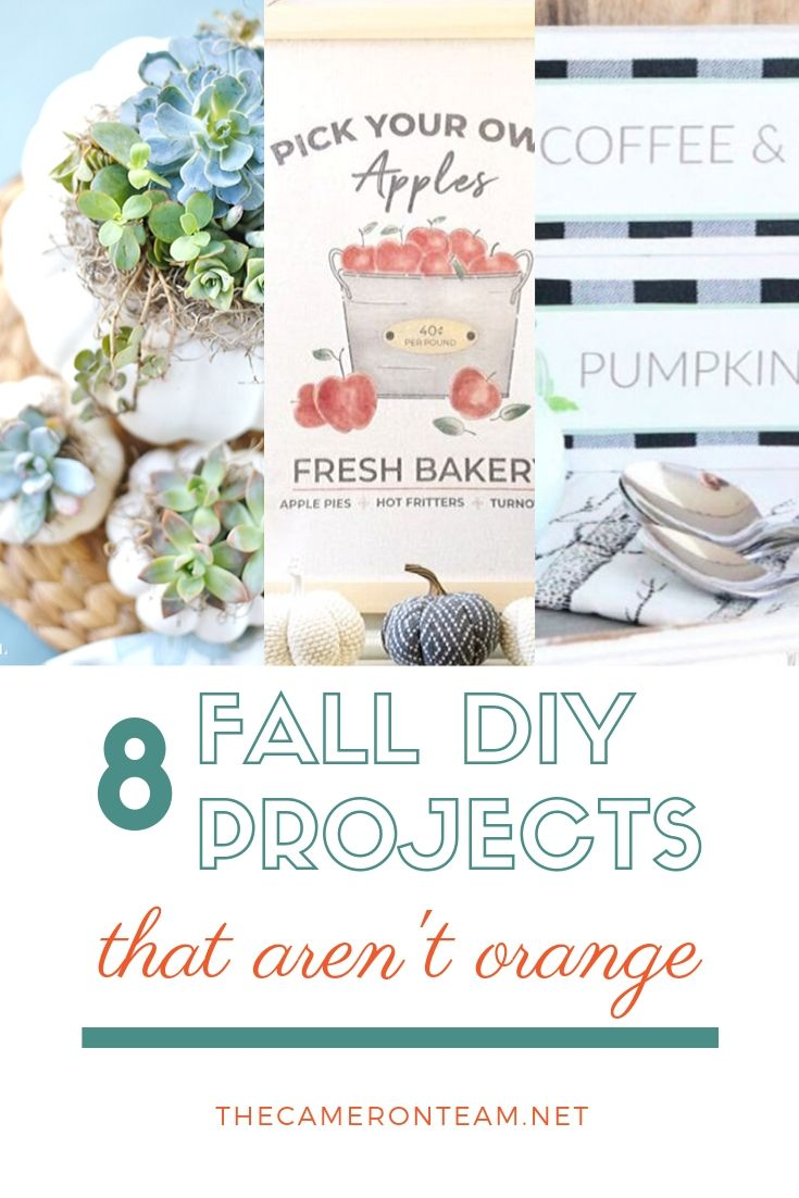 8 Fall DIY Projects That Aren't Orange
