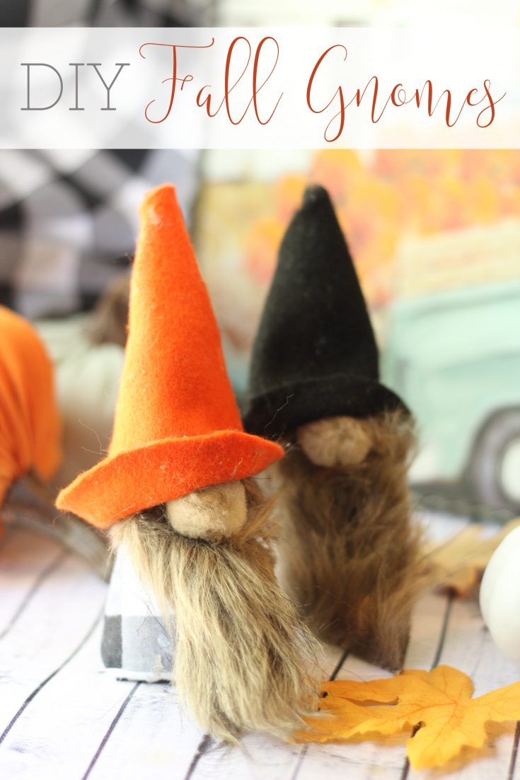 DIY Fall Gnomes - Busy Being Jennifer
