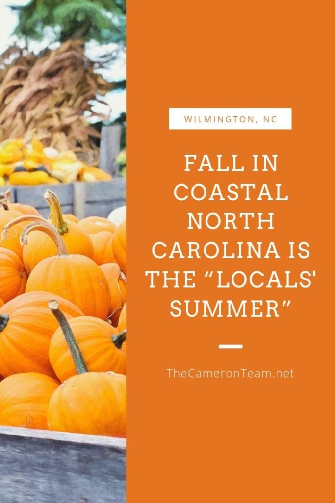 "Fall in Coastal North Carolina is the ""Locals' Summer"""