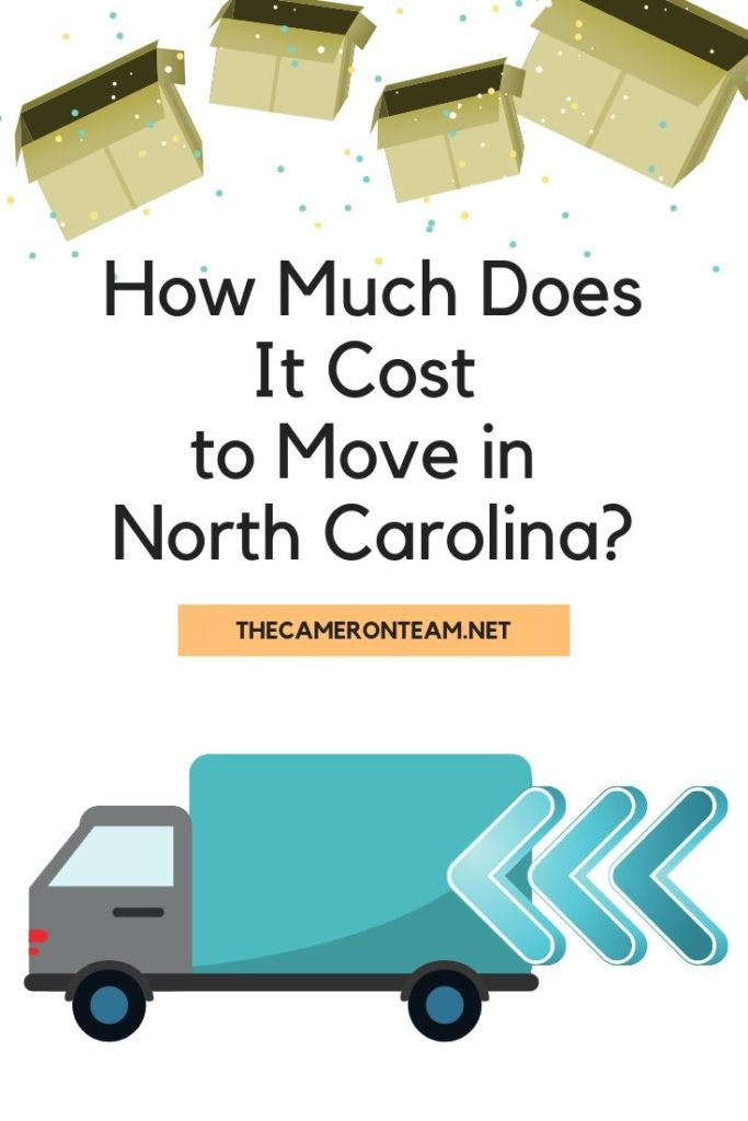 How Much Does It Cost to Move in North Carolina