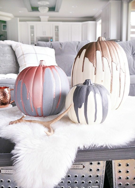 Modern Painted Pumpkins - Taryn WhiteakerModern Painted Pumpkins - Taryn Whiteaker