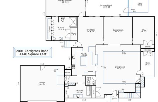 10887 – 2001 Cordgrass Road-1st Floor