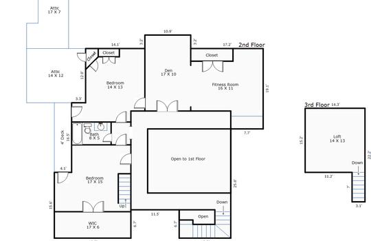 10887 – 2001 Cordgrass Road-2nd Floor