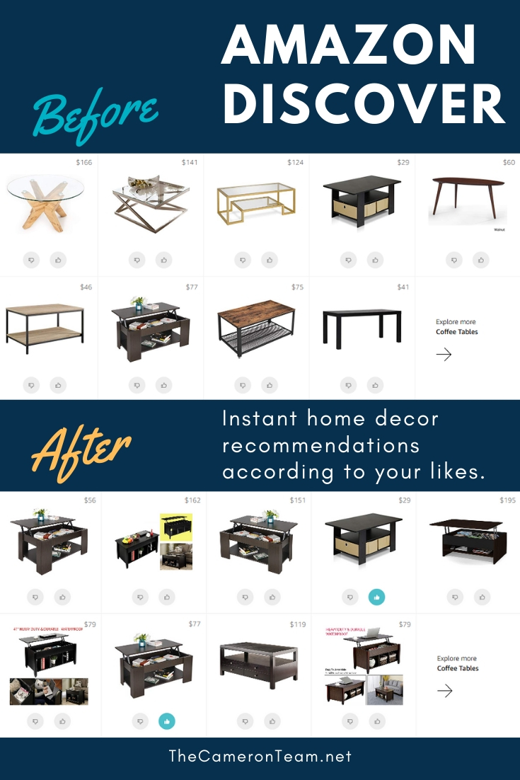 Amazon Discover - Coffee Tables