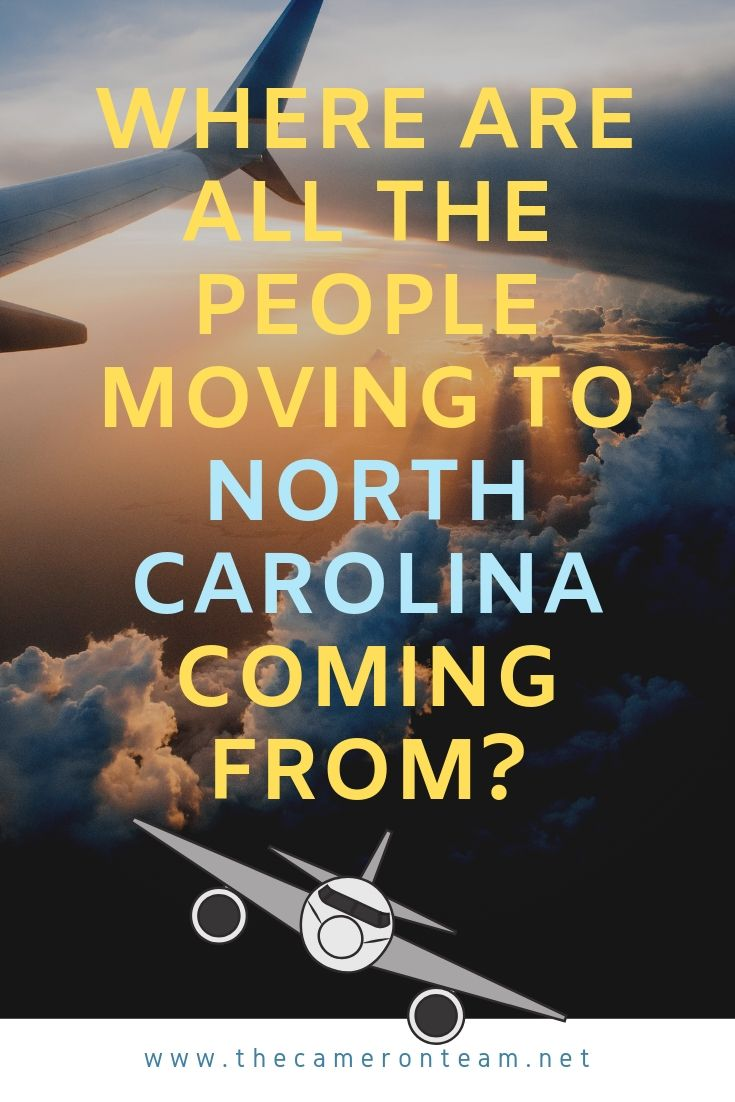 Where are All the People Moving to North Carolina Coming From?