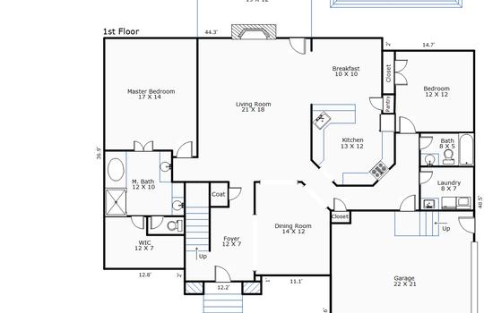11455 – 217 Marsh Oaks Drive-1st Floor