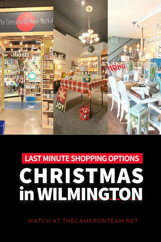 Christmas in Wilmington - Last Minute Shopping Options