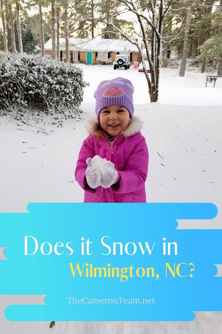 Does it Snow in Wilmington NC