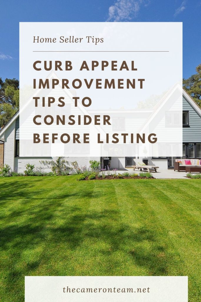 Curb Appeal Improvement Tips to Consider Before Listing