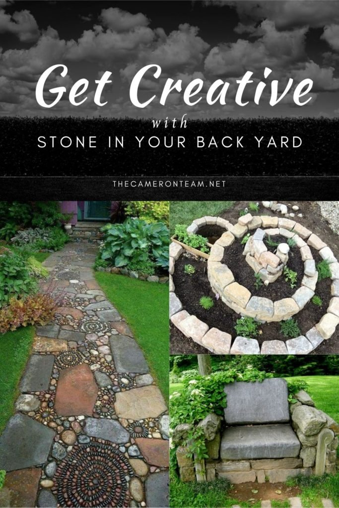 Get Creative With Stone in Your Back Yard