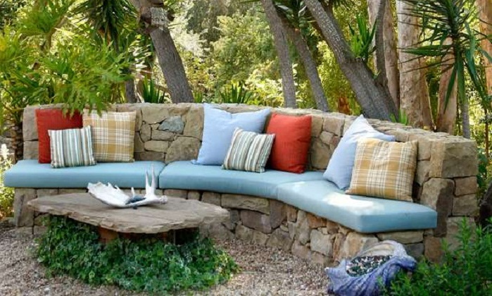 Grace Design Associates - Stone Sofa