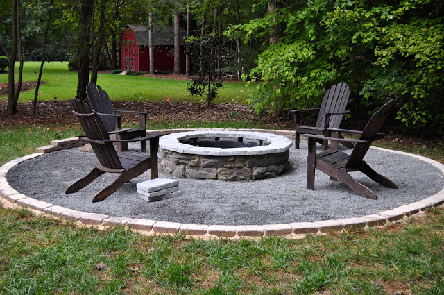The Collected Interior - Fire Pit and Seating Area