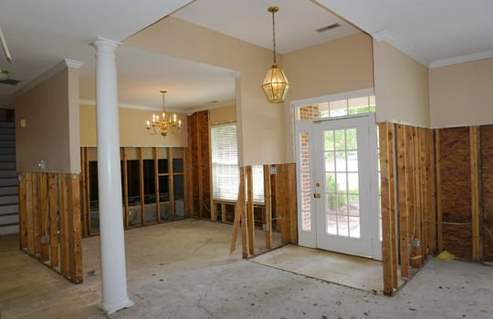 Foyer and Dining Room