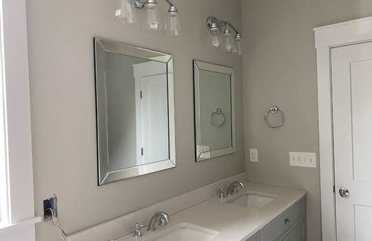 Master Bathroom with Mirrors