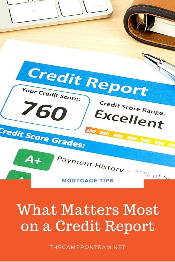 What Matters Most on a Credit Report - Casper1774Studio