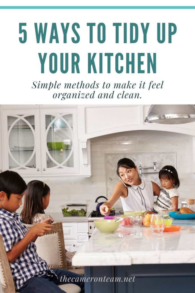 5 Ways to Tidy Up Your Kitchen