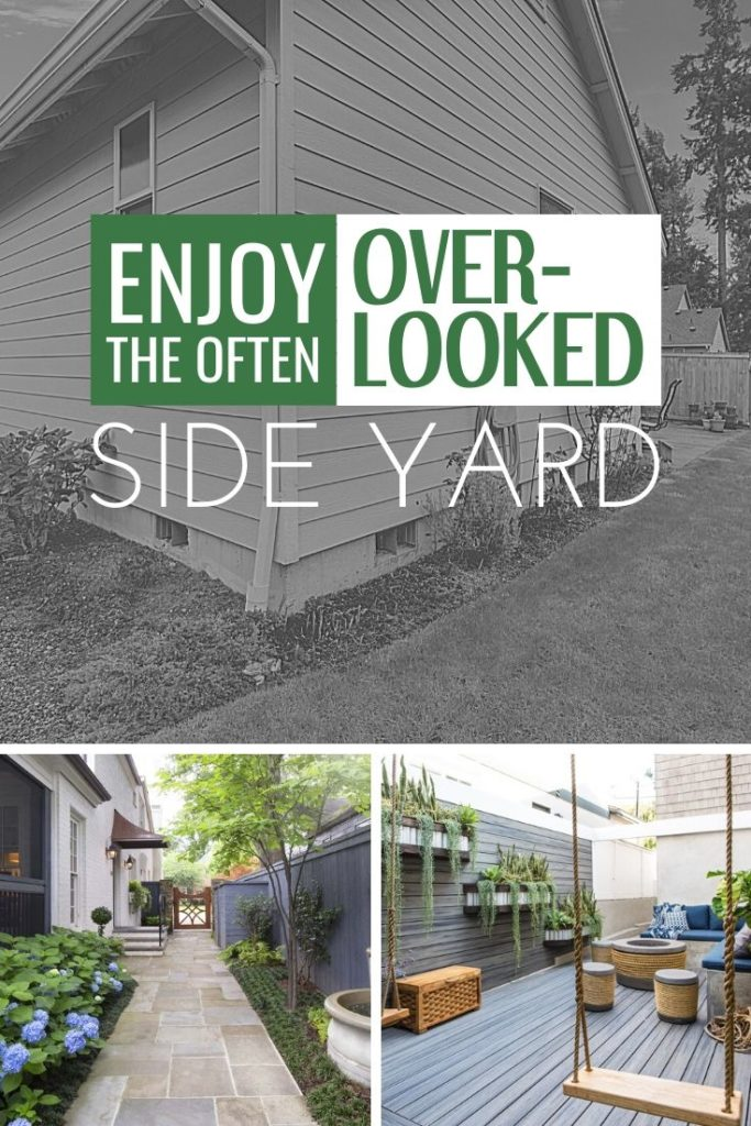 Enjoy the Often-Overlooked Side Yard