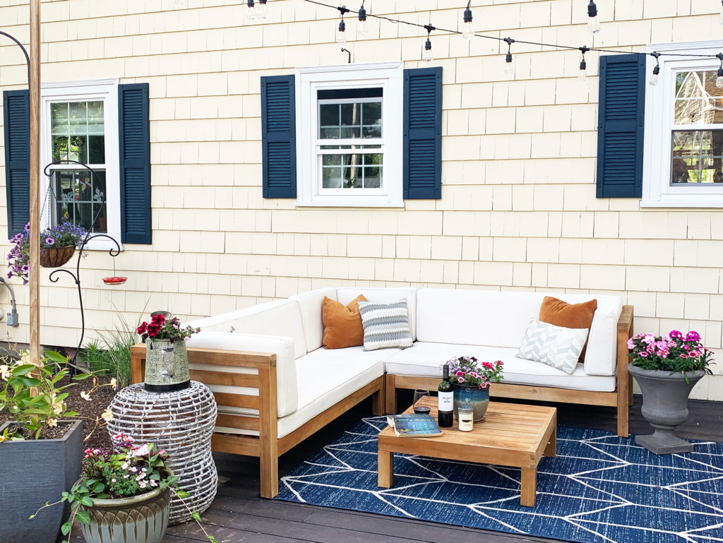Outdoor Living Room - Pickle and Board