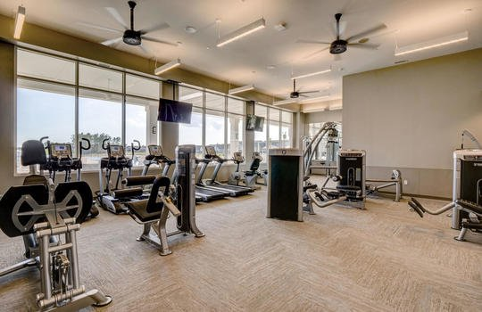 Del Webb at RiverLights Clubhouse Fitness Center