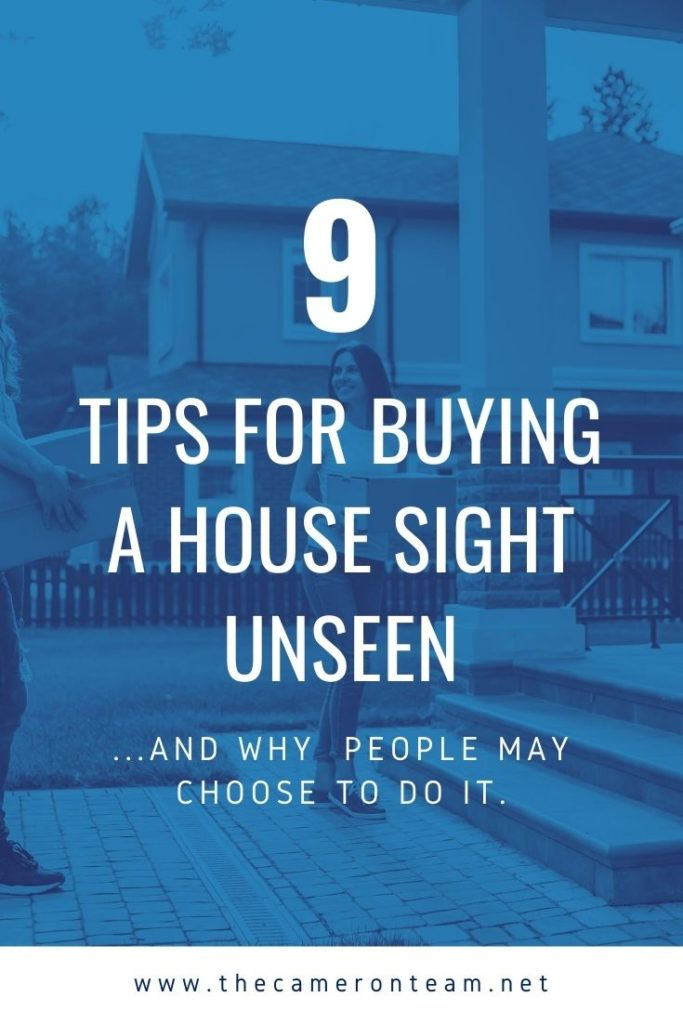 9 Tips for Buying a House Sight Unseen