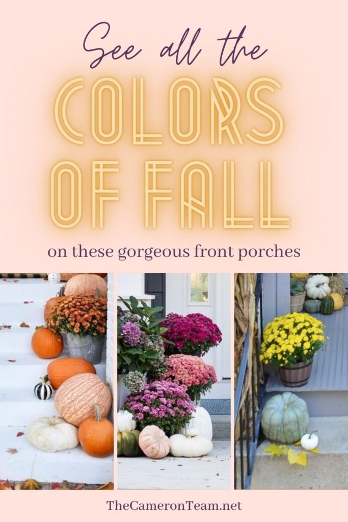 See All the Colors of Fall on these Gorgeous Front Porches