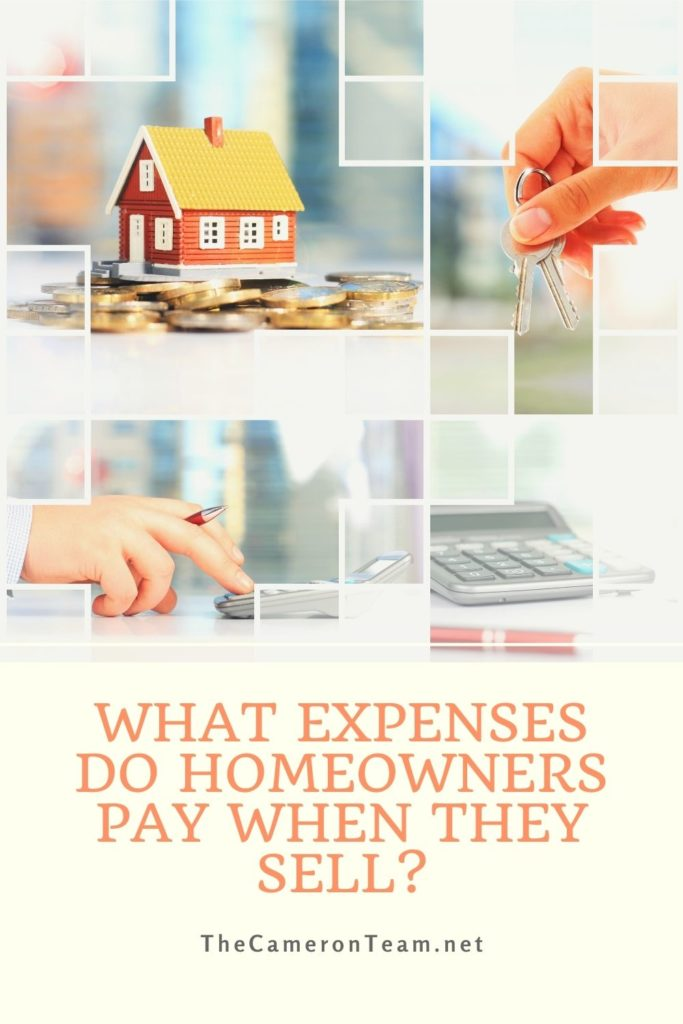 What Expenses Do Homeowners Pay When They Sell