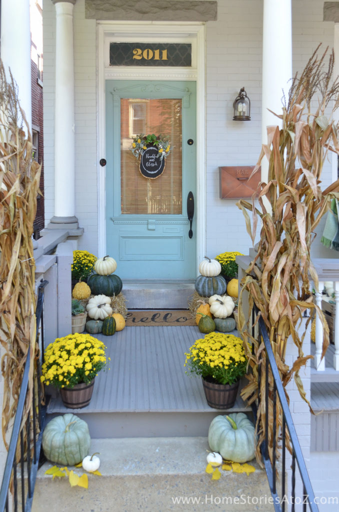 Yellow and Green Porch - Home Stories A to Z