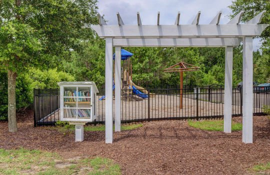 Community Playground and Little Library