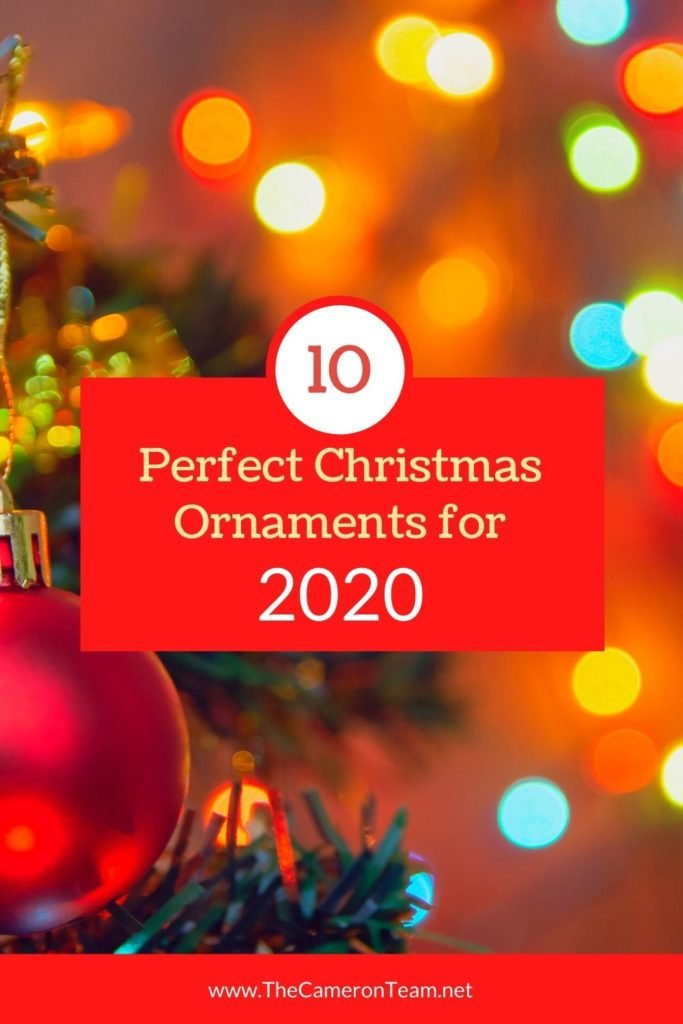10 Perfect Christmas Ornaments for 2020