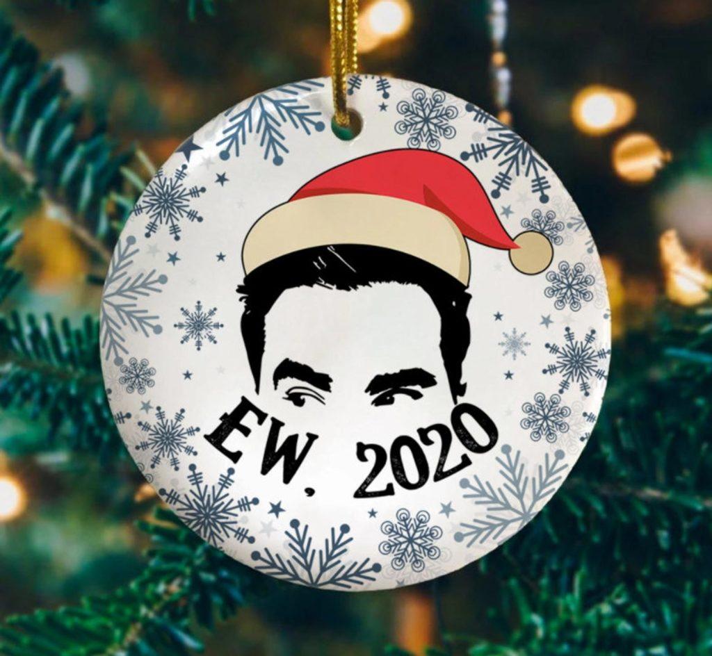 Ew 2020 Funny David With Santa Hat - SandAndHands
