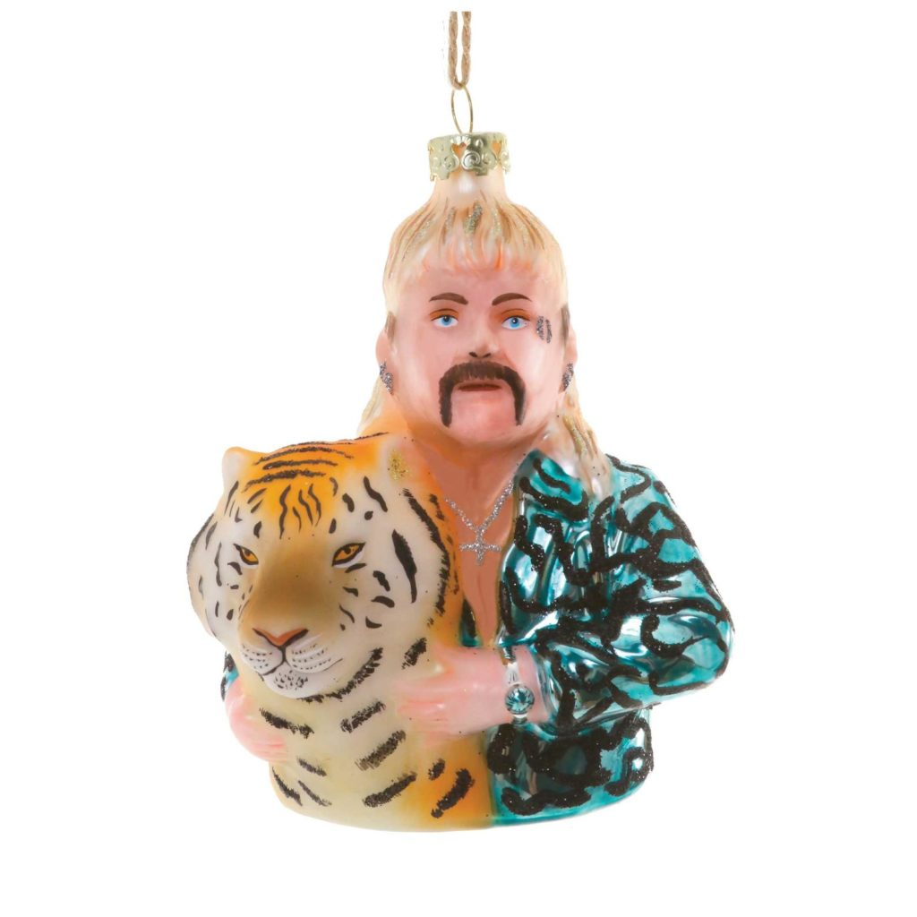 Tiger King Joe Exotic Christmas Ornament - CrankyCakesShop