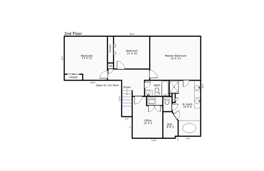 13242 – 3245 Red Berry Drive-2nd Floor