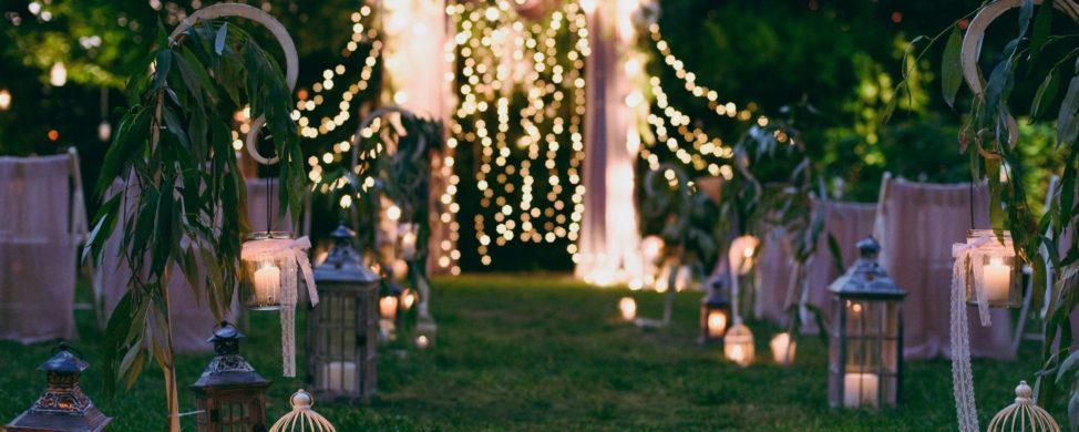 Back Yard Wedding