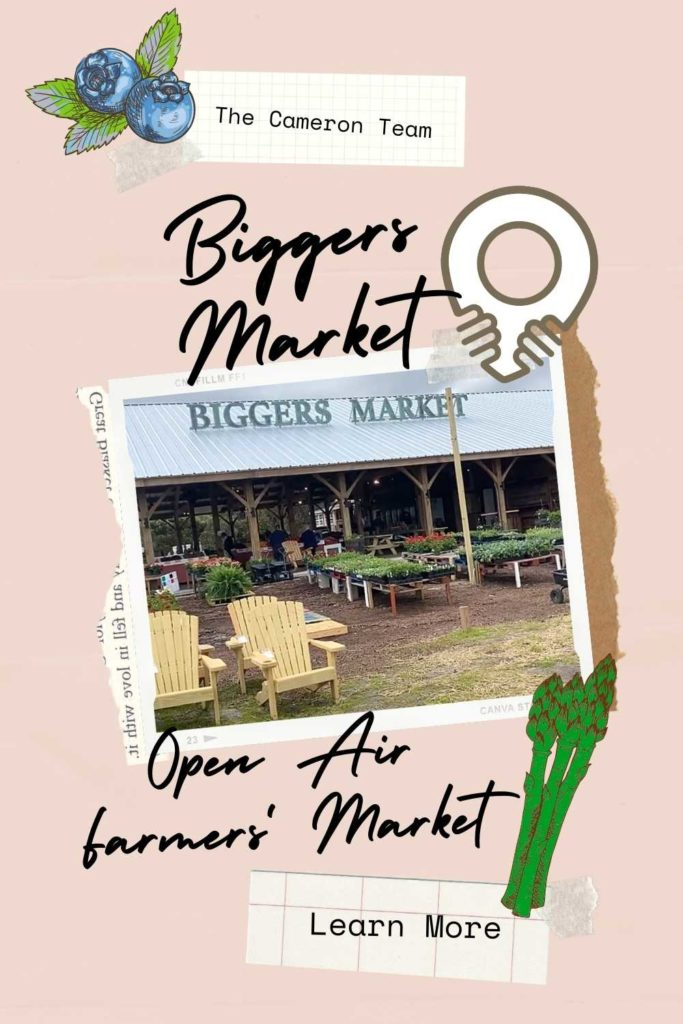 Biggers Market Open Air Farmers' Market in Wilmington, NC