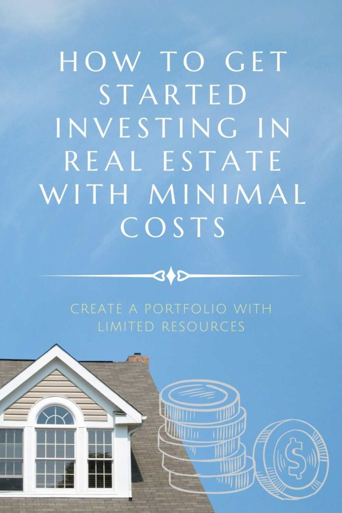 """How to Get Started Investing in Wilmington Real Estate with Minimal Costs"" above a home and coins."