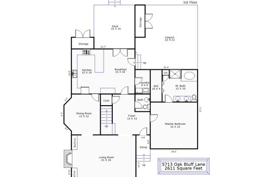 14236 – 5713 Oak Bluff Lane-1st Floor