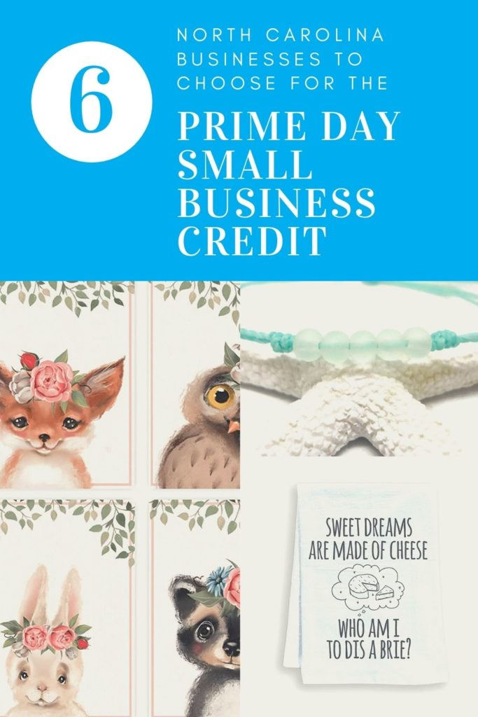 Prime Day Small Business Credit: 6 North Carolina Businesses to Choose