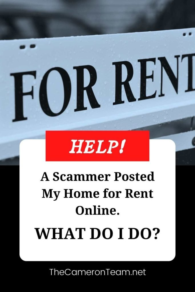 Help! A Scammer Posted My Home for Rent Online. What Do I Do? Pin