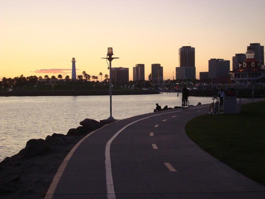 long beach biking