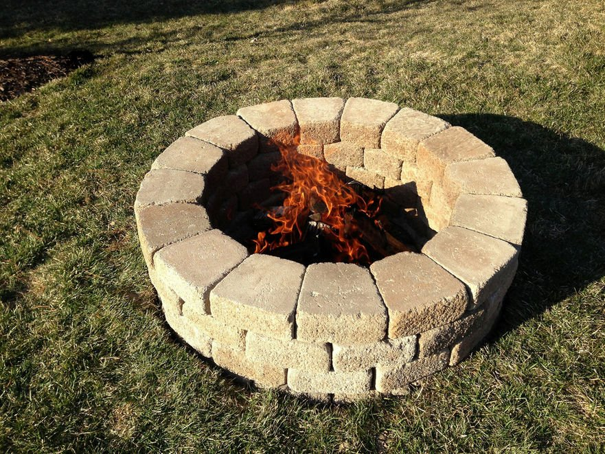 Build Your Own DIY Firepit