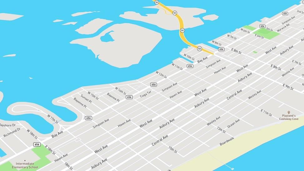 bay area neighborhood in ocean city nj